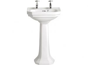 Heritage Granley Cloakroom Basin&Pedestal