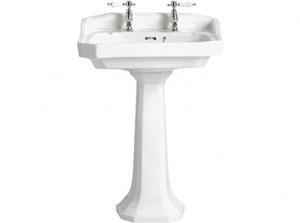 Heritage Granley Standard Basin & Pedestal