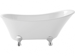 Heritage Grantham Freestanding Acrylic Single Ended Slipper Bath