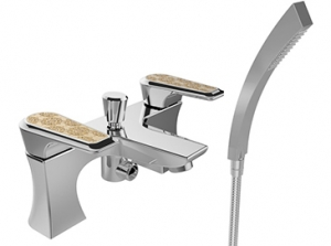 Heritage Limited Edition Lymington Bath Shower Mixer