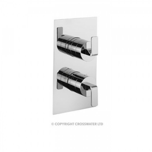 KELLY HOPPEN THERMO SHOWER  VALVE WITH 3 WAY DIVERTER