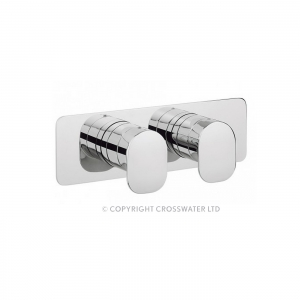 KELLY HOPPEN THERMO SHOWER VALVE WITH 2 WAY DIVERTER
