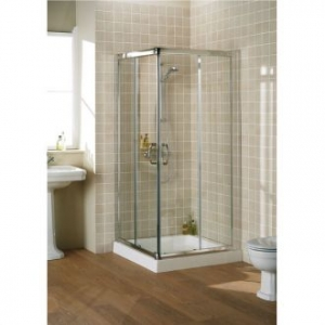 LAKES 750 x 1850 SEMI-FRAMELESS CORNER ENTRY