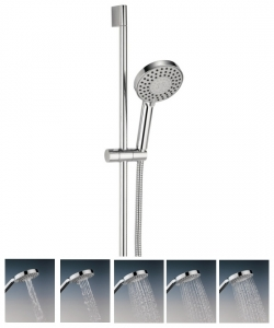 MILTI SPRAY PATTERN CENTRAL SHOWER KIT