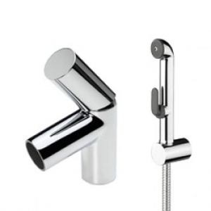 MOOBLOC BASIN MIXER & HAND SHOWER