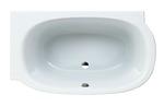 Mimo rectangular for left corner bath