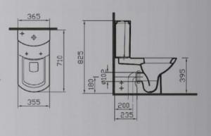 Nuova close-coupled WC 5032