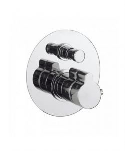OPULENT THERMOSTATIC SHOWER VALVE WITH 2 WAY DIVERTER