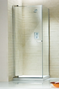RADIANCE CORNER PIVOT DOOR WITH SIDE PANEL