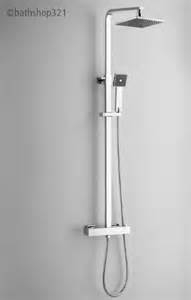 SQUARE THERMOSTATIC SHOWER SET TWO
