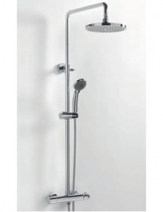 Sagittarius Aurora Deluxe Thermostatic Shower Valve & Riser