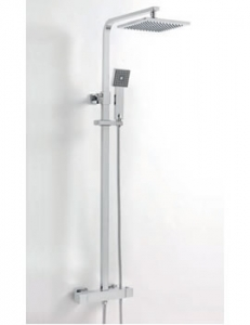 Sagittarius Stark Cube Deluxe Thermostatic Shower & Riser Set