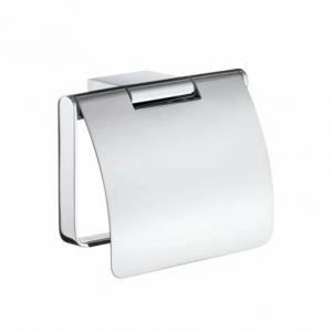 Smedbo Air Toilet Roll Holder with Cover