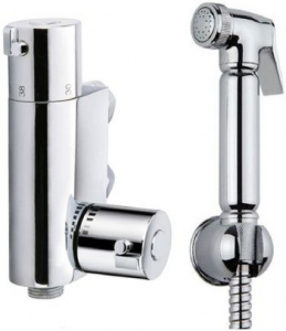 Thermostatic Douche Bidet Brass Shower Spray Kit
