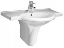 Vienna 800mm countertop washbasin