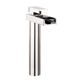 WATER SQUARE LIGHTS BASIN TALL MONOBLOC WITH LIGHTS
