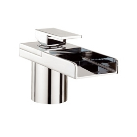 WATER SQUARE LIGHTS BATH FILLER MONOBLOC WITH LIGHTS