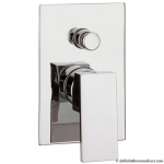 WATER SQUARE MANUAL SHOWER VALVE WITH DIVERTER