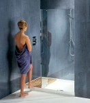 1500/1790mm Recessed Walk-In Shower Enclosure
