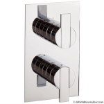 ZEYA THERMOSTATIC SHOWER VALVE WITH 2 WAY DIVERTER