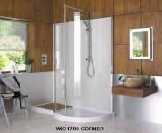 1700 Curved Walk-In Shower Enclosure