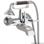 RETRO 27 LEVER BATH SHOWER MIXER WITH KIT