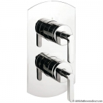 RETRO 27 LEVER THERMOSTATIC SHOWER VALVE WITH 2 WAY DIVERTER