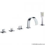 BASE BATH 5 HOLE SET