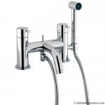 MIKE LEVER BATH SHOWER MIXER WITH KIT