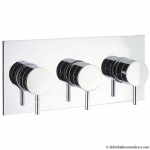 MIKE LEVER THERMOSTATIC SHOWER VALVE WITH 3 WAY DIVERTER