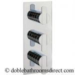 PURSUIT THERMOSTATIC SHOWER VALVE WITH 3 WAY DIVERTER