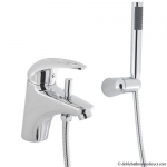 KOMO BATH SHOWER MIXER MONOBLOC WITH KIT