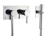 DESIGN BATH 2 HOLE SET (DIVERTER) WITH KIT
