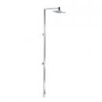 EGON SHOWER COLUMN WITH SQUARE FIXED HEAD