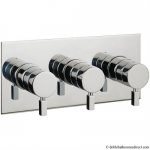 LOGIC THERMOSTATIC SHOWER VALVE WITH 3 WAY DIVERTER