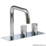DESIGN BATH 3 HOLE SET WITH DIVERTER