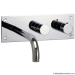 DESIGN BATH THERMOSTATIC 3 HOLE SET WITH DIVERTER