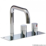 DESIGN BATH THERMOSTATIC 3 HOLE SET