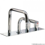 DESIGN BATH THERMOSTATIC 4 HOLE SET