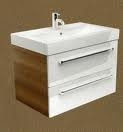 Ceramic wash basin double drawer unit 60 - 80