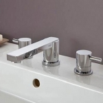 ELIXIR CLASSIC DESIGN THREE HOLE BASIN AND BATH FILLER TAP