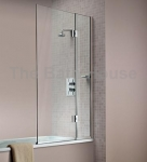 HINGED BATH SCREEN