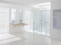 LAKES 1200 x 1850 SEMI-FRAMELESS DOUBLE SLIDER DOOR