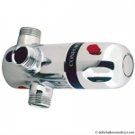 THERMOSTATIC DOUCHE VALVE WITH BACK PLATE LP