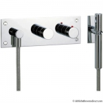 DESIGN THERMOSTATIC SHOWER MIXER WITH KIT 3 HOLE