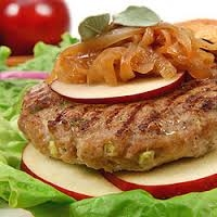 4 Homemade Award Winning 6oz Pork & Apple Burgers