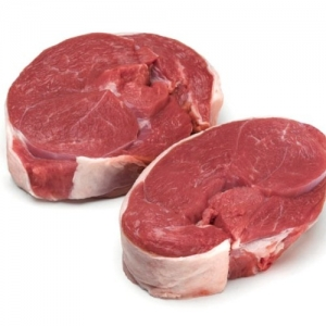 Two Nidderdale, Yorkshire Leg Lamb Steaks