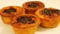 Four Pork & Sweet Pickle Pies
