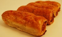 Four Yorkshire Sausage Rolls