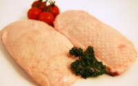 2 large Gressingham Duck Breasts